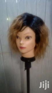 100 Percent 8 Inches Black And Gold Human Hair Wig Cap   Hair Beauty for sale in Greater Accra, Tema Metropolitan