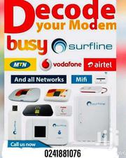 DECODE OR UNLOCK YOUR 4g OR 3g Routers,Mifi And Modems | Computer Accessories  for sale in Ashanti, Atwima Mponua