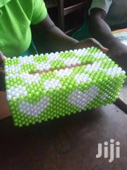 Brand New Beaded Tissue Box   Home Accessories for sale in Eastern Region, Birim Central Municipal