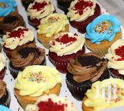Set Of Red Velvet And Vanilla Cup Cakes With Swiss Meringue Butter C | Meals & Drinks for sale in Greater Accra, Kwashieman