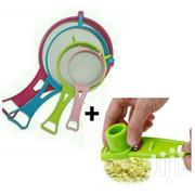 4PCS Strainer And 1 Garlic Grater   Kitchen & Dining for sale in Greater Accra, Abelemkpe