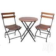 1 Foldable Table And 2 Chairs | Furniture for sale in Greater Accra, Roman Ridge
