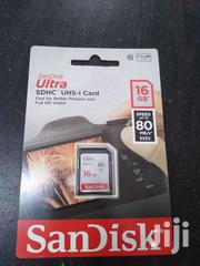 SANDISK 16GB ULTRA SDHC MEMORY CARDS FOR CAMERA | Cameras, Video Cameras & Accessories for sale in Greater Accra, Asylum Down