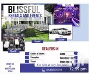 Blissful Rentals And Events   Automotive Services for sale in Greater Accra, East Legon (Okponglo)