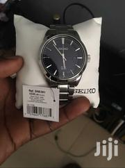 Seiko Men'S SNE361 Analog Display Japanese Solar Quartz Silver Watch | Watches for sale in Greater Accra, East Legon (Okponglo)