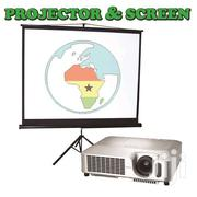 RENT A PROJECTOR & SCREEN For GH. 150 Only | TV & DVD Equipment for sale in Greater Accra, Teshie-Nungua Estates