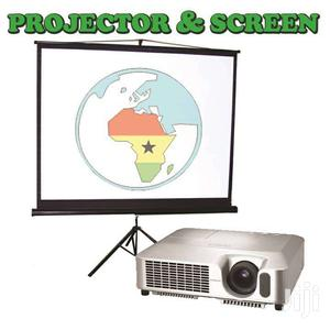 RENT A PROJECTOR & SCREEN For GH. 150 Only