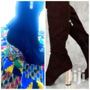 High Boots || Block Heels || | Shoes for sale in Greater Accra, Airport Residential Area