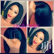 Mongolian Human Hair Blunt Cut Made With Closure 8 Inches | Hair Beauty for sale in Greater Accra, Accra Metropolitan