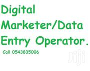 Data Entry Operator/Digital Marketer | Accounting & Finance CVs for sale in Central Region, Gomoa West