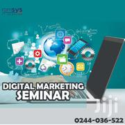 FREE DIGITAL MARKETING & CAREER GROWTH SEMINAR 2019   Classes & Courses for sale in Greater Accra, Odorkor