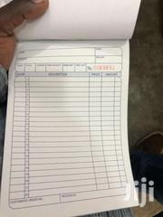 Invoice And Receipt Books | Automotive Services for sale in Greater Accra, Agbogbloshie