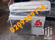 NEW CHIGO 2.5 HP SPLIT AIR CON"