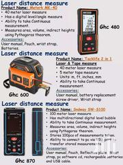 100meters Laser Tape/Distance Measure | Measuring & Layout Tools for sale in Greater Accra, Tema Metropolitan
