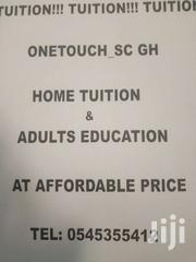 ONETOUCH_SC GH Home Tuition & Adults Education | Classes & Courses for sale in Ashanti, Kumasi Metropolitan