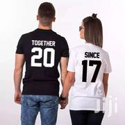 Couples T-shirt | Clothing for sale in Greater Accra, Airport Residential Area