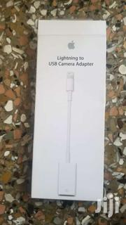 Apple MD821AM/A Lightning To USB Camera Adapter | Cameras, Video Cameras & Accessories for sale in Greater Accra, Nii Boi Town
