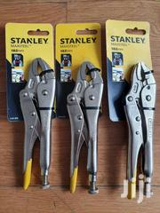STANLEY MAXSTEEL 182mm 7' 0-84-808 LOCKING PLIERS 30mm Curved Jaw | Hand Tools for sale in Greater Accra, Achimota