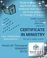 Certificate In Ministry | Classes & Courses for sale in Greater Accra, East Legon