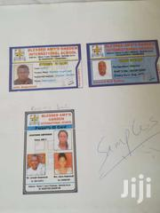 School ID Card Design And Print | Automotive Services for sale in Greater Accra, Ga West Municipal