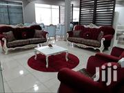 ROYAL RED VELVET SOFA SET | Furniture for sale in Greater Accra, Achimota