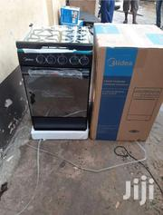 IGNITION_MIDEA 4BURNER GAS COOKER OVEN BLACK NEW IN BOX | Kitchen Appliances for sale in Greater Accra, Accra Metropolitan