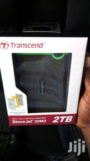 NEW Transcend 2TB Shockproof External Hard Disk Drive HDD Backup | Laptops & Computers for sale in Greater Accra, Teshie-Nungua Estates