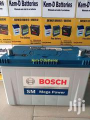 17 Plates Bosch Battery/Free Delivery(Office Or House) | Vehicle Parts & Accessories for sale in Greater Accra, Airport Residential Area