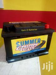 Free Delivery/15 Plates Summer Battery/Home Or Office | Vehicle Parts & Accessories for sale in Greater Accra, Tesano