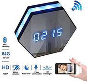 Wireless Spy Camera Clock With Motion Detector   Cameras, Video Cameras & Accessories for sale in Greater Accra, Dansoman