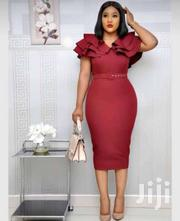 Bodycon Dress With Belt | Clothing Accessories for sale in Greater Accra, Dansoman