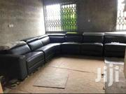 Fresh In 6 Pcs  3 Recliners Leather Sectional Sofa Set | Furniture for sale in Greater Accra, Ga South Municipal