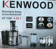 Kenwood JE 1100 4-in-1 Juice Extractor + Blender - 5 Litre Silver | Kitchen Appliances for sale in Greater Accra, Asylum Down