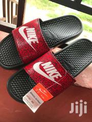 Action Red /White & Black  Benassi JDI Print | Shoes for sale in Greater Accra, Odorkor