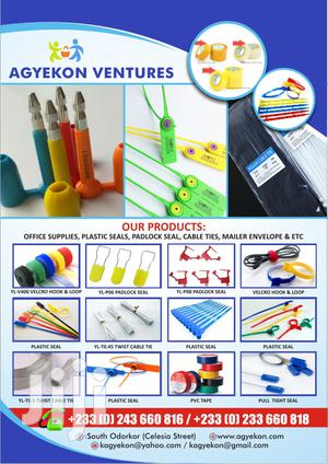 Security Seals, Cable Ties, Stationery And More