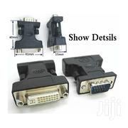 VGA Male To DVI (24 + 5) Female Adapter Form USA | Computer Accessories  for sale in Greater Accra, North Labone