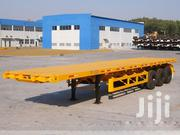 3 Axles Flatbed 40ft Container Semi-trailer | Heavy Equipments for sale in Greater Accra, New Mamprobi