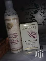 Makari Oralight Food Supplement And Exfoliating Body Wash | Skin Care for sale in Greater Accra, Osu