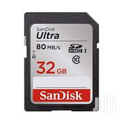 32GB Sandisk Ultra SD 80mb/S C10 SDHC UHS-I Memory Card | Cameras, Video Cameras & Accessories for sale in Greater Accra, Dansoman