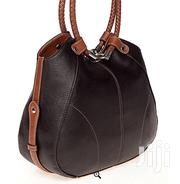 Kim Rogers Leather Handbag - Black/Brown | Bags for sale in Greater Accra, Okponglo