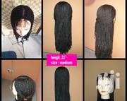 Corn Row Wig Cap With Frontal   Hair Beauty for sale in Greater Accra, Teshie-Nungua Estates