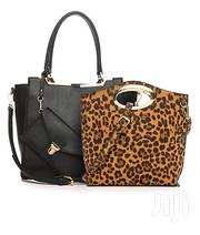 Kaari Blue 3 Piece Purse Set Leopard/ Black-usa | Bags for sale in Greater Accra, Okponglo