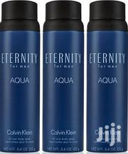 Eternity Aqua for Men 3 Pack Body Spray by Calvin Klein (5.4 Oz., Pk.) | Fragrance for sale in Greater Accra, Okponglo